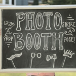 Chalk Boss chalk boards showing photo booth artwork